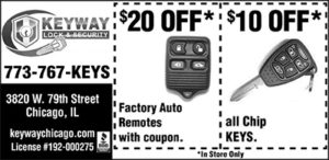 $20 Off Remotes and $10 Off Chip Keys