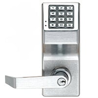 We can install mechanical keypad locks for you.